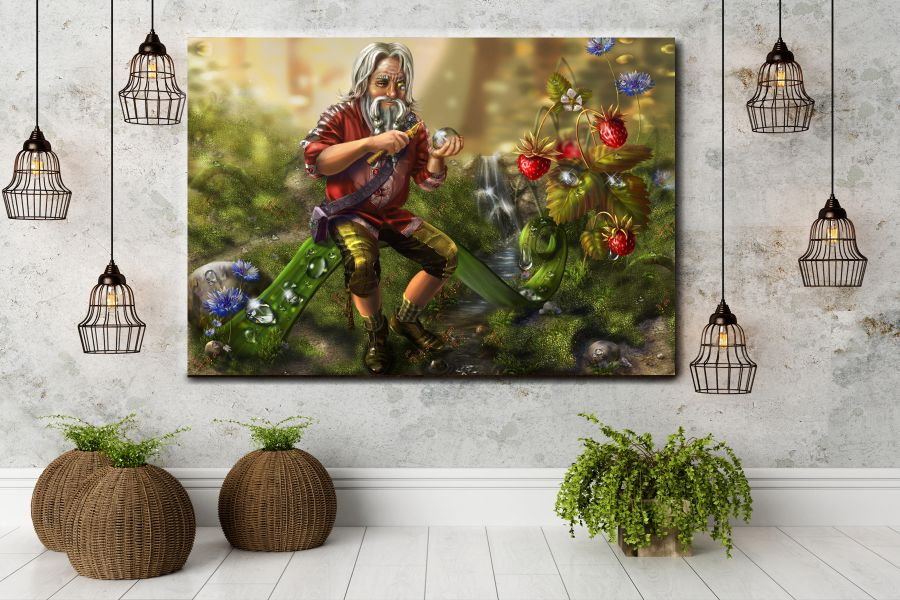 Canvas Art Wall Decor, FAIRY 79002 LARGE