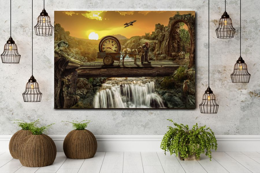 Canvas Art Wall Decor, FAIRY 79006 THUMBNAIL