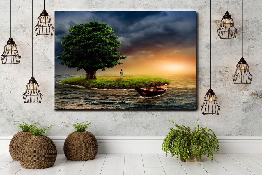 Canvas Art Wall Decor, FAIRY 79010 THUMBNAIL