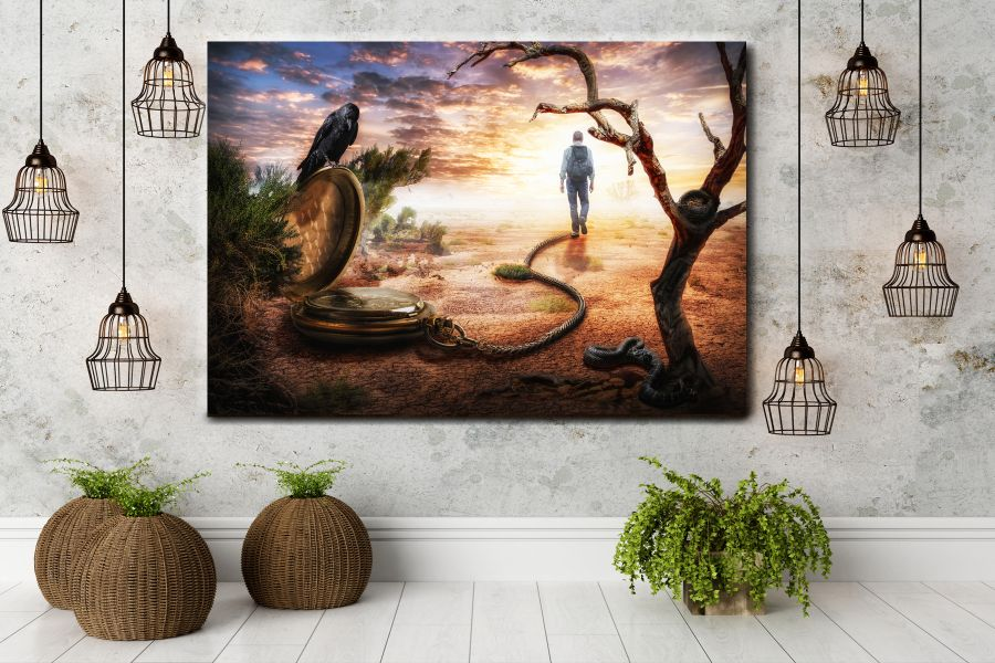 Canvas Art Wall Decor, FAIRY 79011 THUMBNAIL