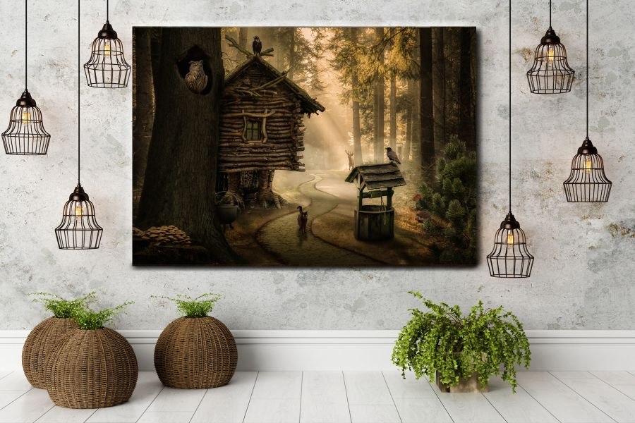 Canvas Art Wall Decor, FAIRY 79012 THUMBNAIL