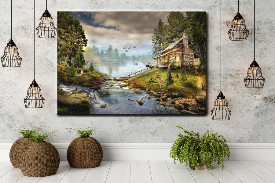 Canvas Art Wall Decor, FAIRY 79014 THUMBNAIL