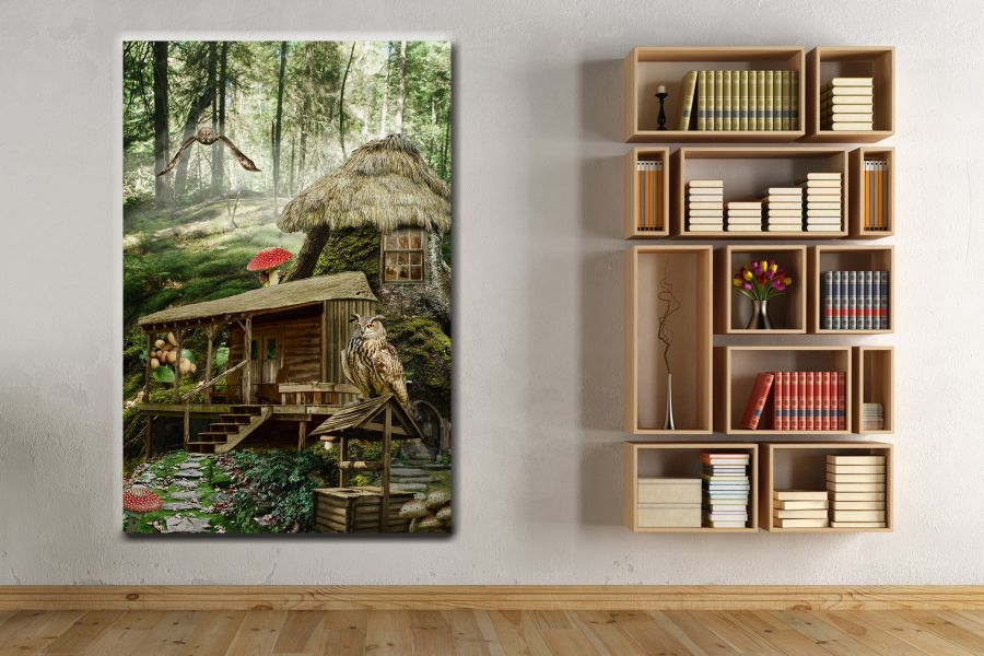 Canvas Art Wall Decor, FAIRY 79016 THUMBNAIL