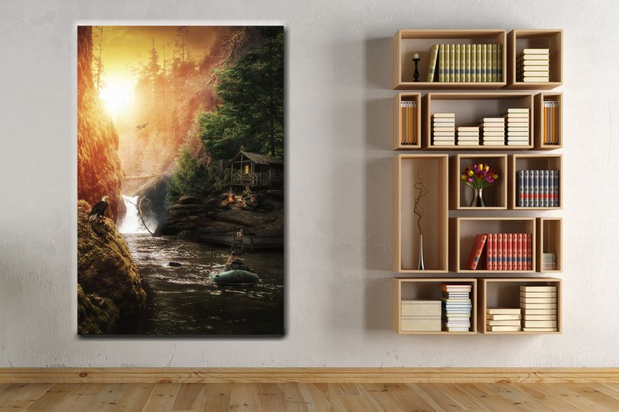 Canvas Art Wall Decor, FAIRY 79018 THUMBNAIL