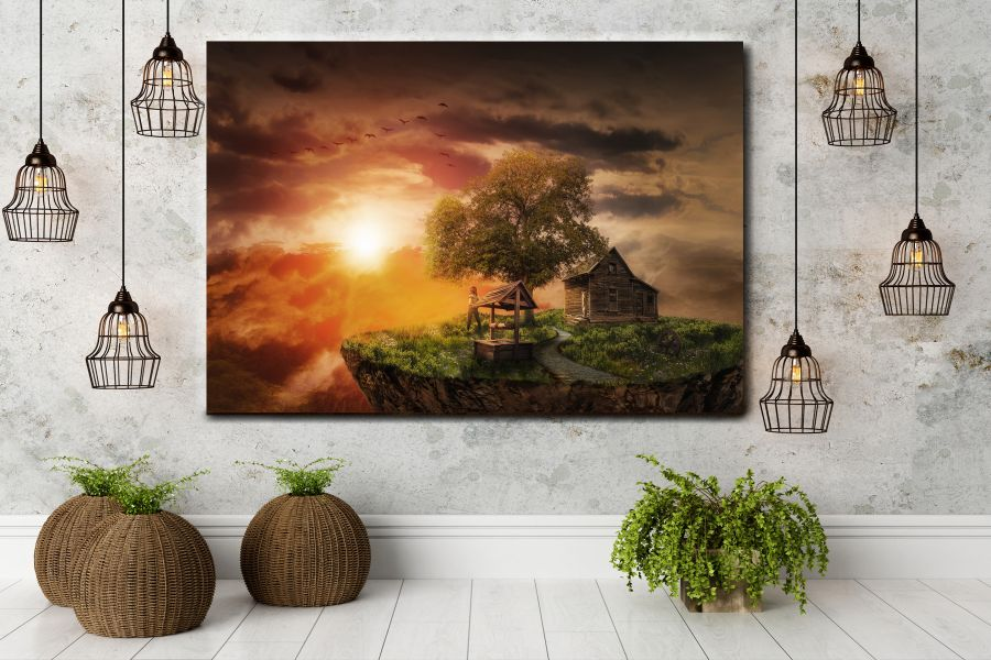Canvas Art Wall Decor, FAIRY 79019 THUMBNAIL