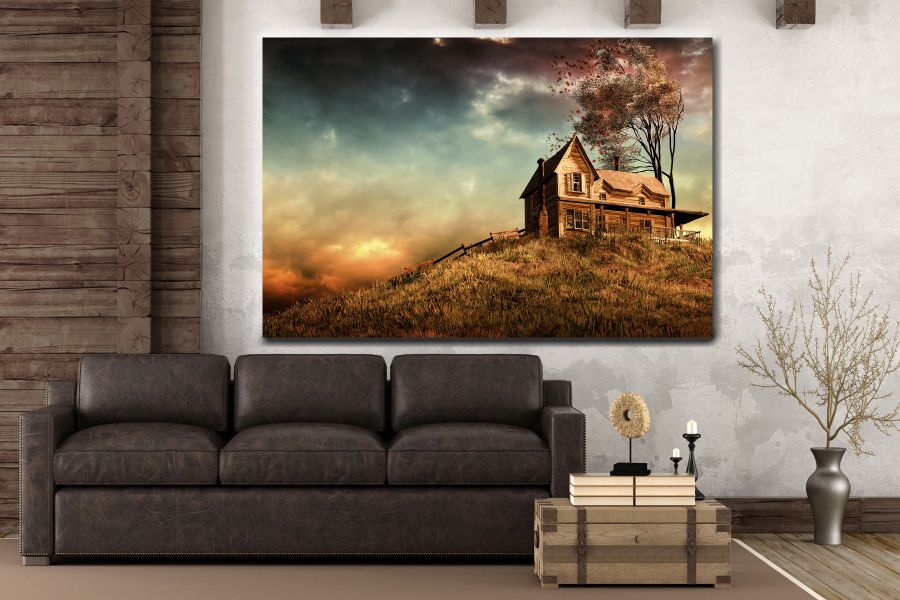 Canvas Art Wall Decor, FAIRY 79021 LARGE