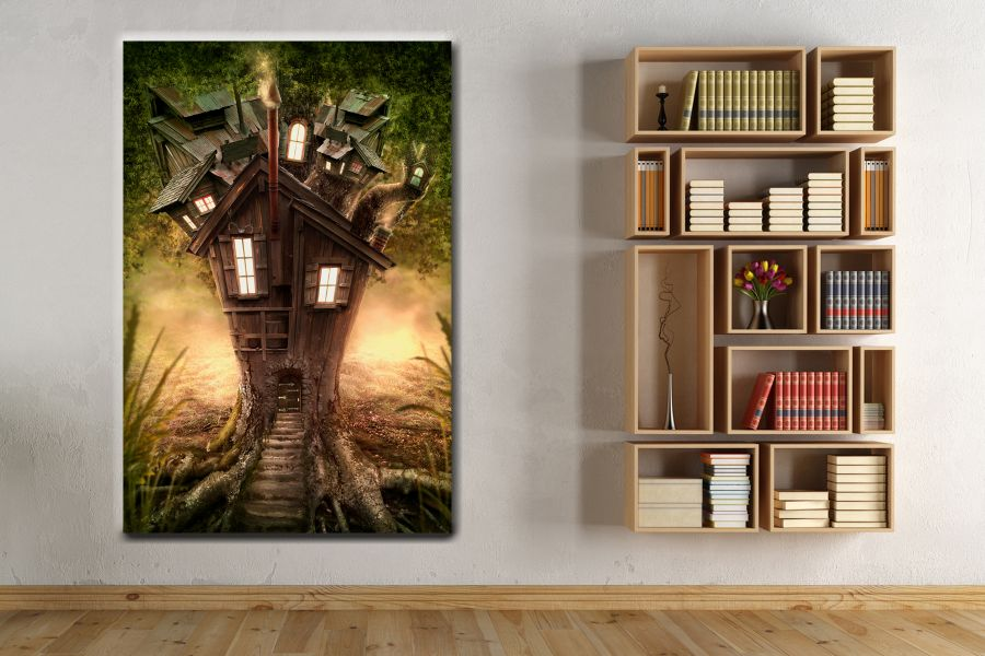 Canvas Art Wall Decor, FAIRY 79025 THUMBNAIL