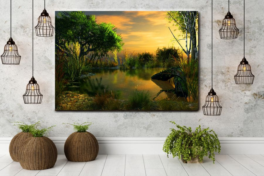 Canvas Art Wall Decor, FAIRY 79031 THUMBNAIL