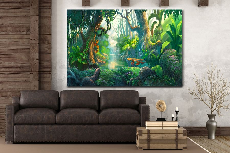 Canvas Art Wall Decor, FAIRY 79035 THUMBNAIL
