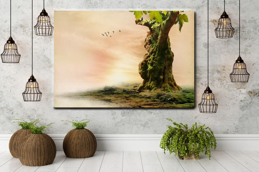 Canvas Art Wall Decor, FAIRY 79036 THUMBNAIL