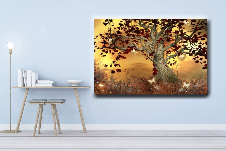 Canvas Art Wall Decor, FAIRY 79038 THUMBNAIL