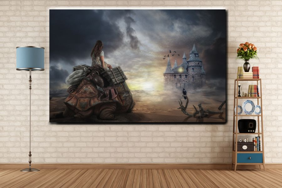 Canvas Art Wall Decor, FAIRY 79050 THUMBNAIL