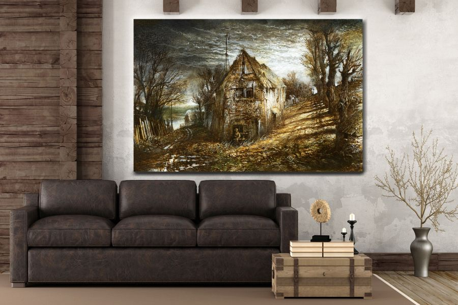Canvas Art Wall Decor, FAIRY 79062 THUMBNAIL