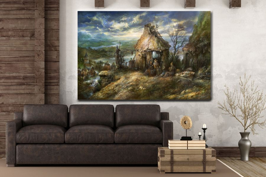 Canvas Art Wall Decor, FAIRY 79065 LARGE