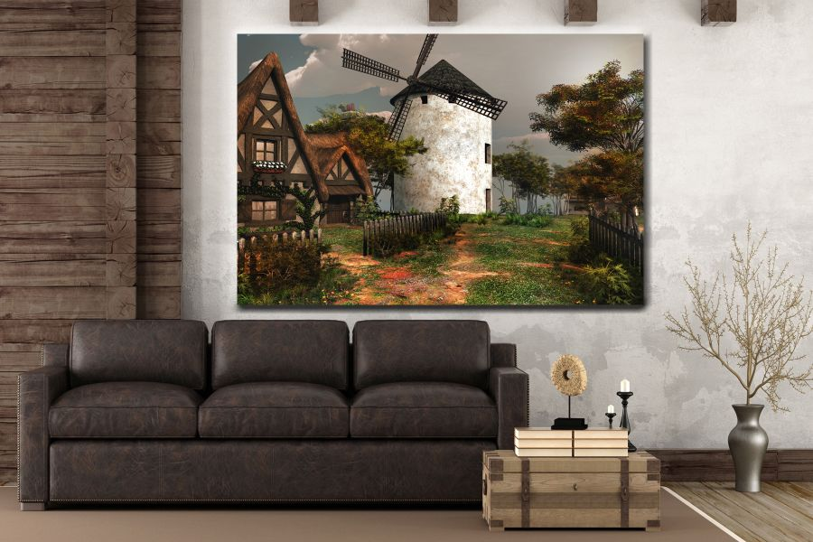 Canvas Art Wall Decor, FAIRY 79068 THUMBNAIL