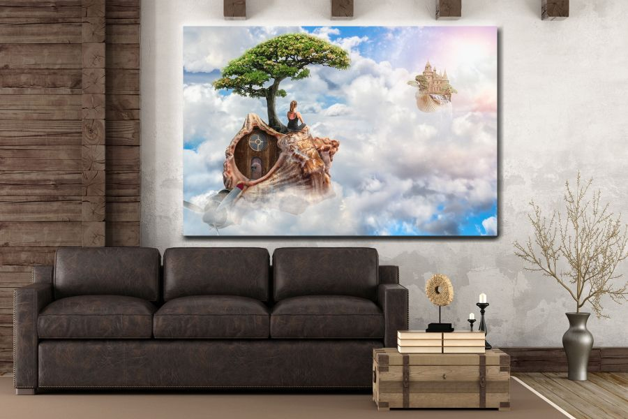 Canvas Art Wall Decor, FAIRY 79070 THUMBNAIL