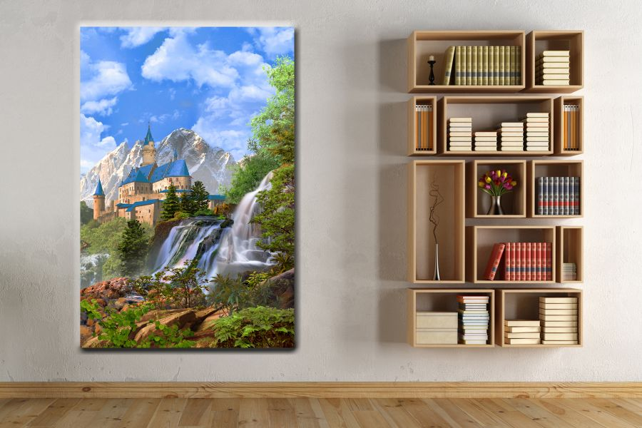 Canvas Art Wall Decor, FAIRY 79071 THUMBNAIL