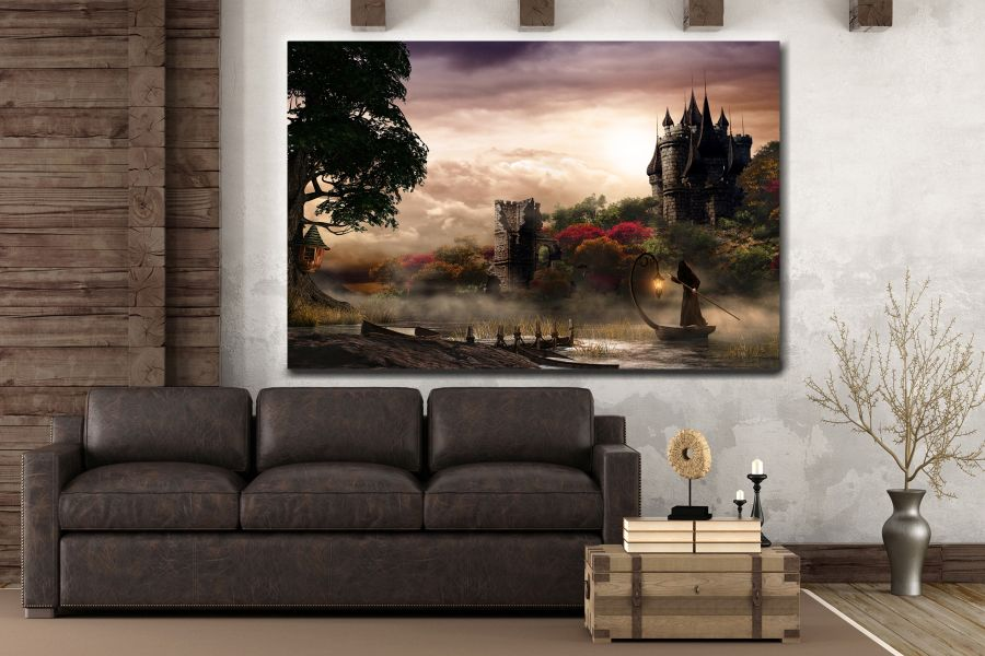 Canvas Art Wall Decor, FAIRY 79075 THUMBNAIL