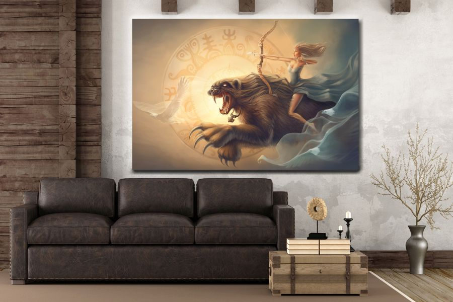 Canvas Art Wall Decor, FAIRY 79082 THUMBNAIL