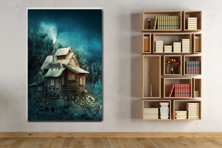 Canvas Art Wall Decor, FAIRY 79086 THUMBNAIL