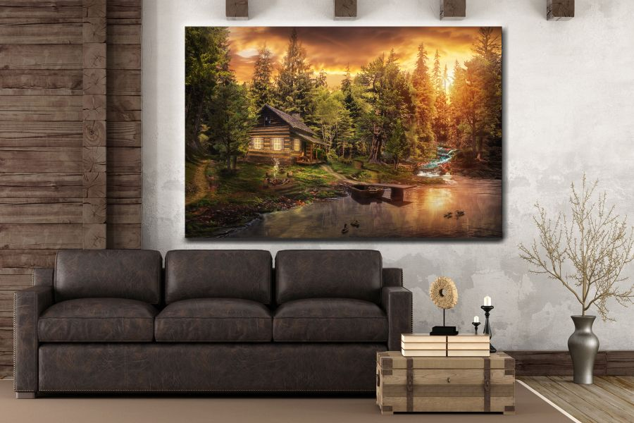 Canvas Art Wall Decor, FAIRY 79090 THUMBNAIL