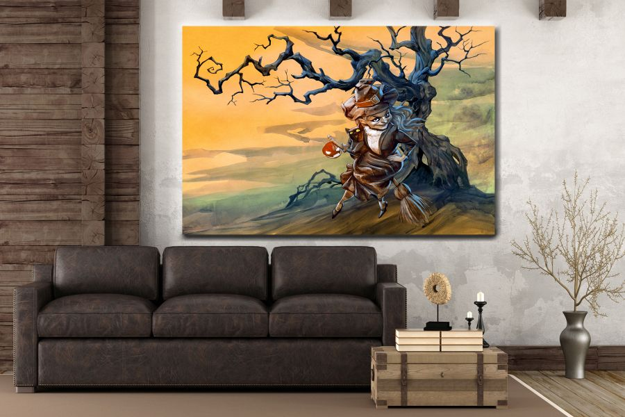 Canvas Art Wall Decor, FAIRY 79098 THUMBNAIL
