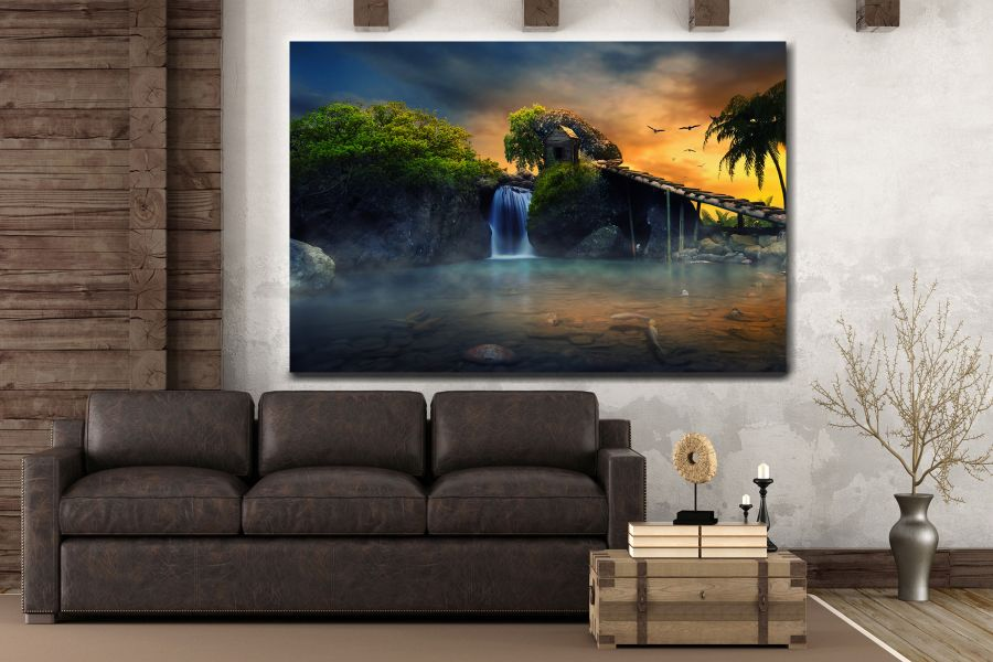 Canvas Art Wall Decor, FAIRY 79103 THUMBNAIL
