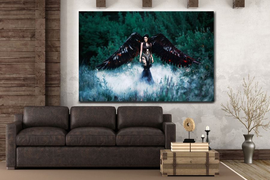 Canvas Art Wall Decor, FAIRY 79106 THUMBNAIL