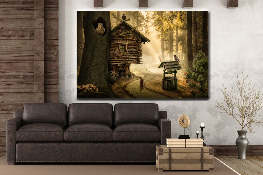 Canvas Art Wall Decor, FAIRY 79108 THUMBNAIL