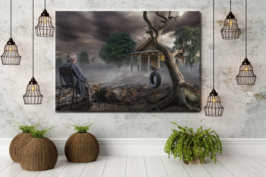Canvas Art Wall Decor, FAIRY 79112 THUMBNAIL