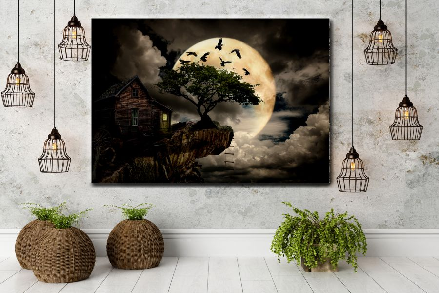 Canvas Art Wall Decor, FAIRY 79113 THUMBNAIL