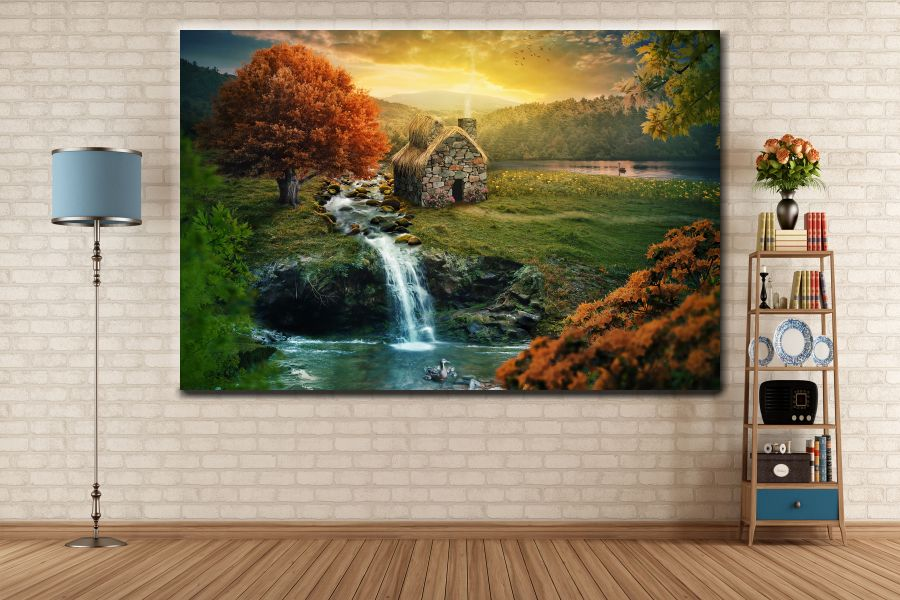 Canvas Art Wall Decor, FAIRY 79133 THUMBNAIL