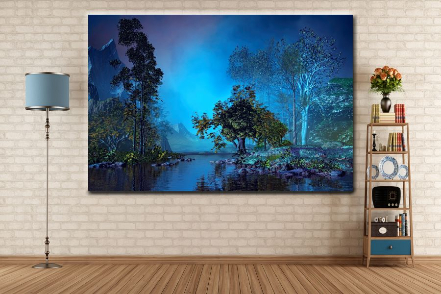 Canvas Art Wall Decor, FAIRY 79135 THUMBNAIL