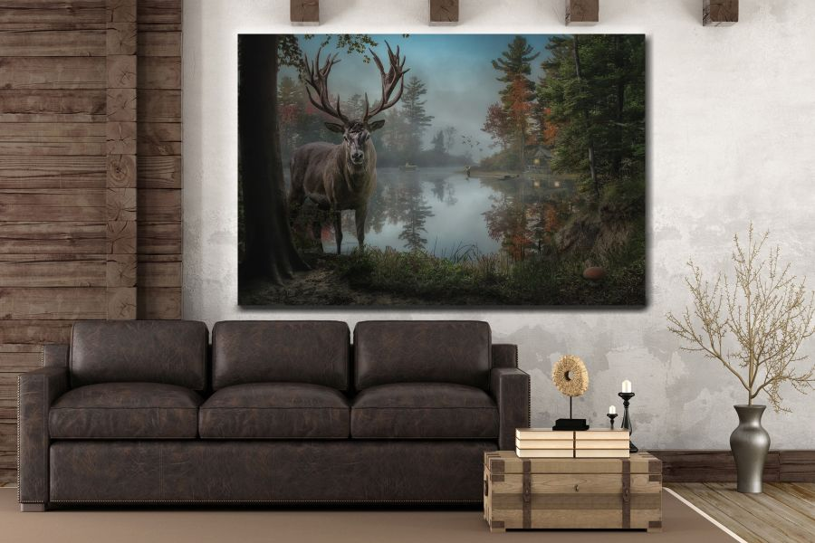Canvas Art Wall Decor, FAIRY 79224 THUMBNAIL