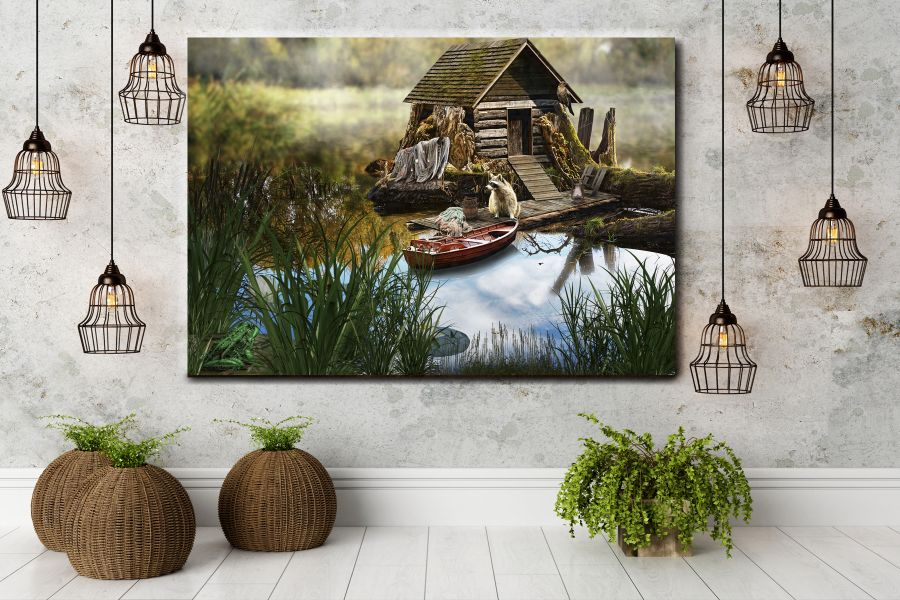 Canvas Art Wall Decor, FAIRY 79240 THUMBNAIL