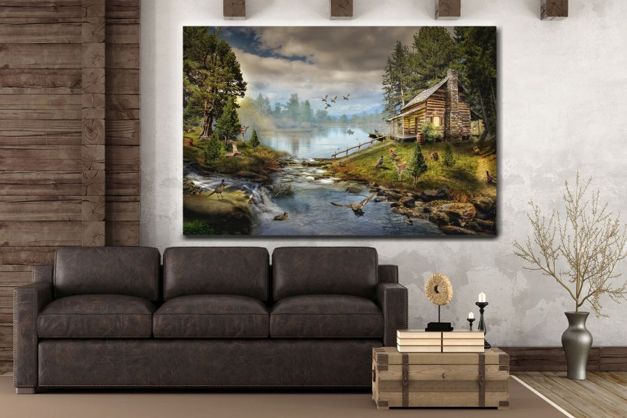 Canvas Art Wall Decor, FAIRY 79241 LARGE