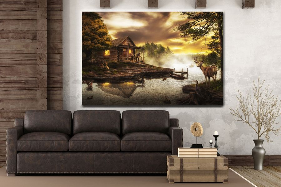 Canvas Art Wall Decor, FAIRY 79242 THUMBNAIL