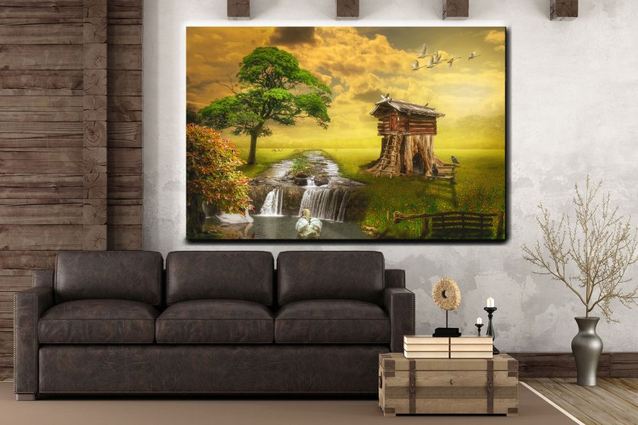 Canvas Art Wall Decor, FAIRY 79251 THUMBNAIL