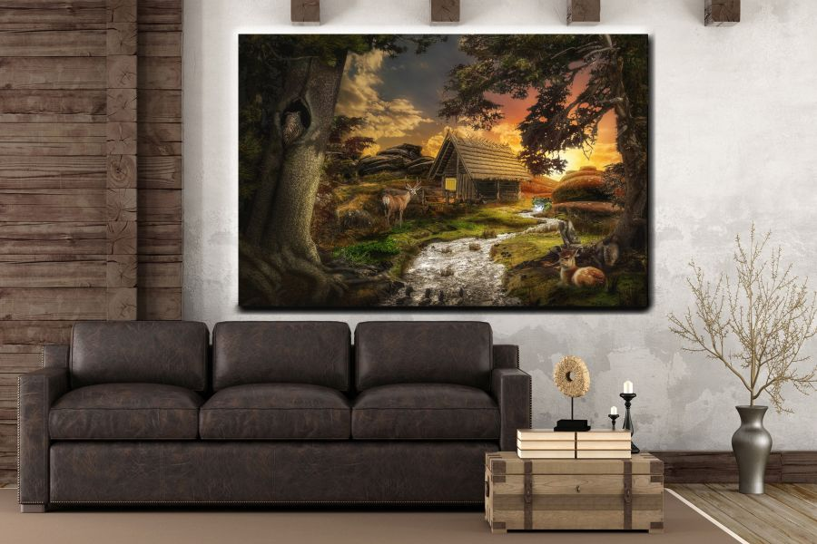 Canvas Art Wall Decor, FAIRY 79252 THUMBNAIL
