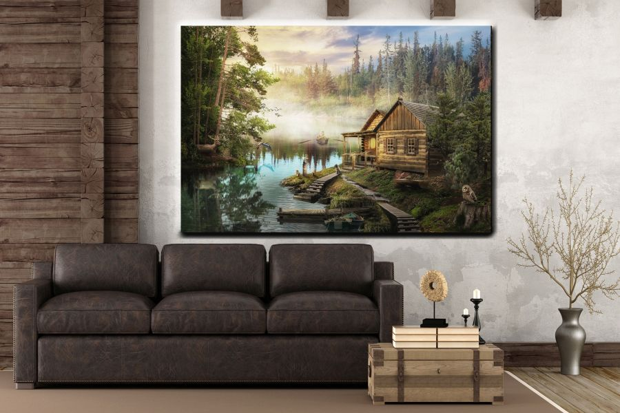 Canvas Art Wall Decor, FAIRY 79253 THUMBNAIL