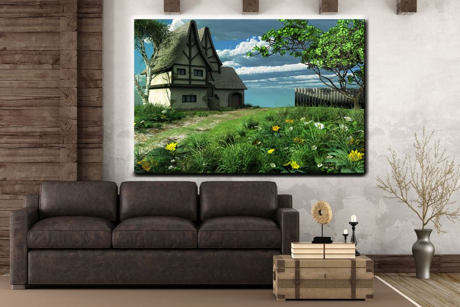 Canvas Art Wall Decor, FAIRY 79259 THUMBNAIL