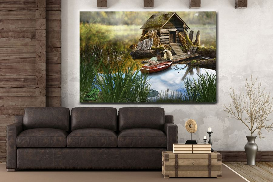 Canvas Art Wall Decor, FAIRY 79265 THUMBNAIL