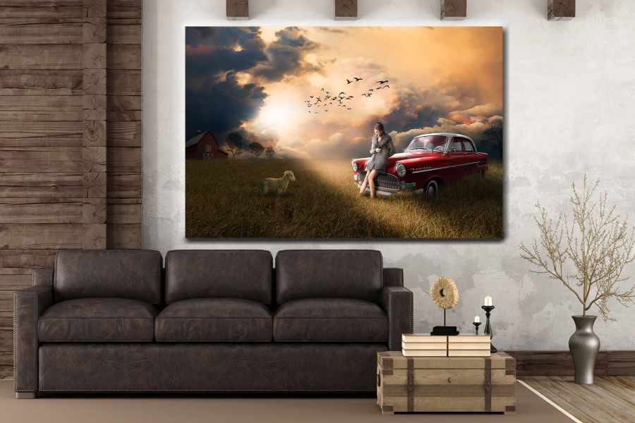 Canvas Art Wall Decor, FAIRY 79270 THUMBNAIL