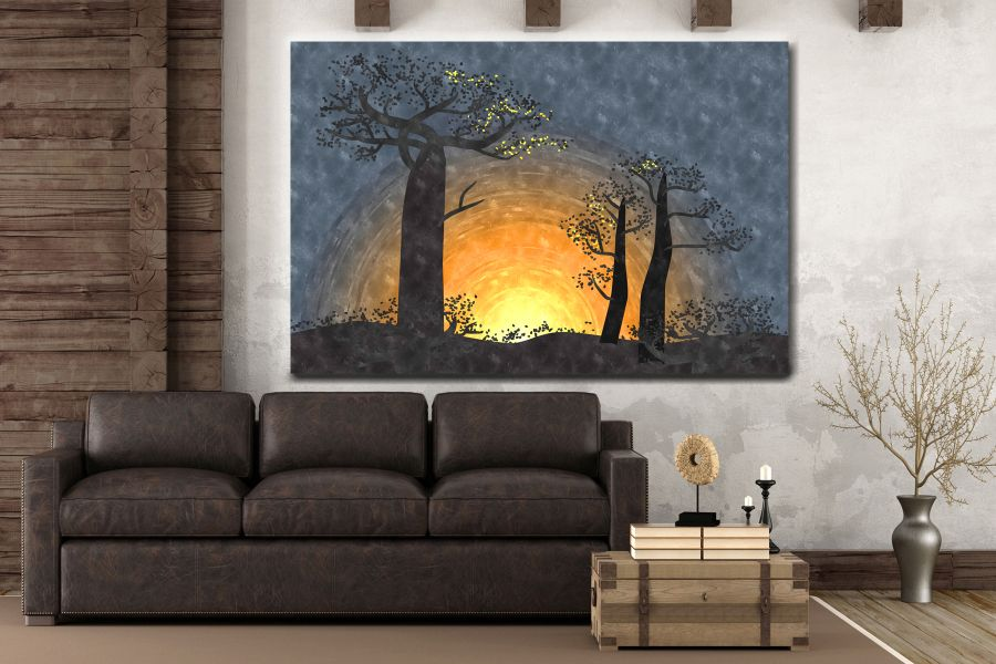 Canvas Art Wall Decor, FAIRY 79275 THUMBNAIL