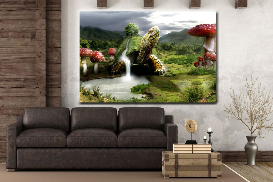 Canvas Art Wall Decor, FAIRY 79301 THUMBNAIL