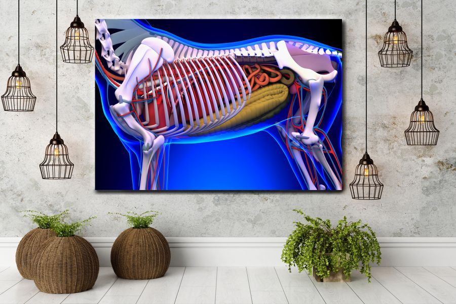 HD Metal Art, Indoor/Outdoor Wall Decor,  Pixolate, Subtint EDUCATION SCIENCE 98055 200 THUMBNAIL