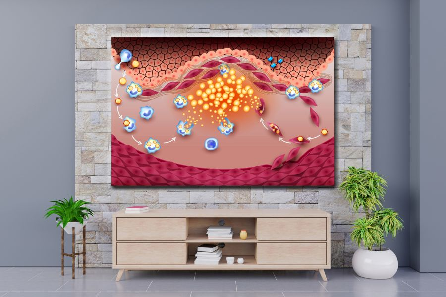 Canvas Art Wall Decor, CANVAS Art EDUCATION & SCIENCE 98115 110 THUMBNAIL