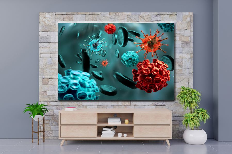 HD Metal Art, Indoor/Outdoor Wall Decor,  Pixolate, Subtint EDUCATION SCIENCE 98116 200 THUMBNAIL