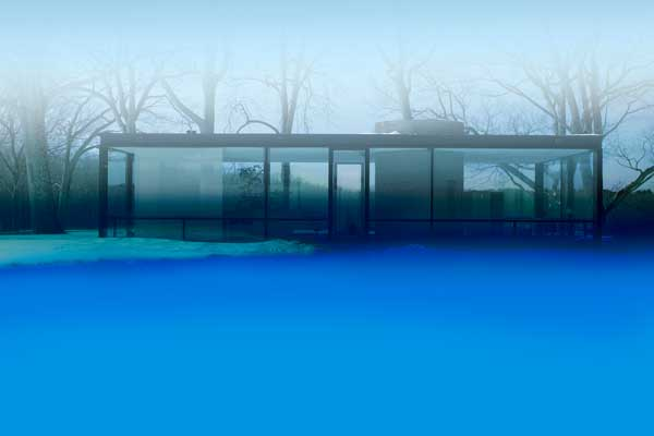 James Welling: Glass House 0463