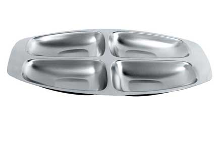 Alessi Four-Section Hors D'oeuvres Tray MAIN